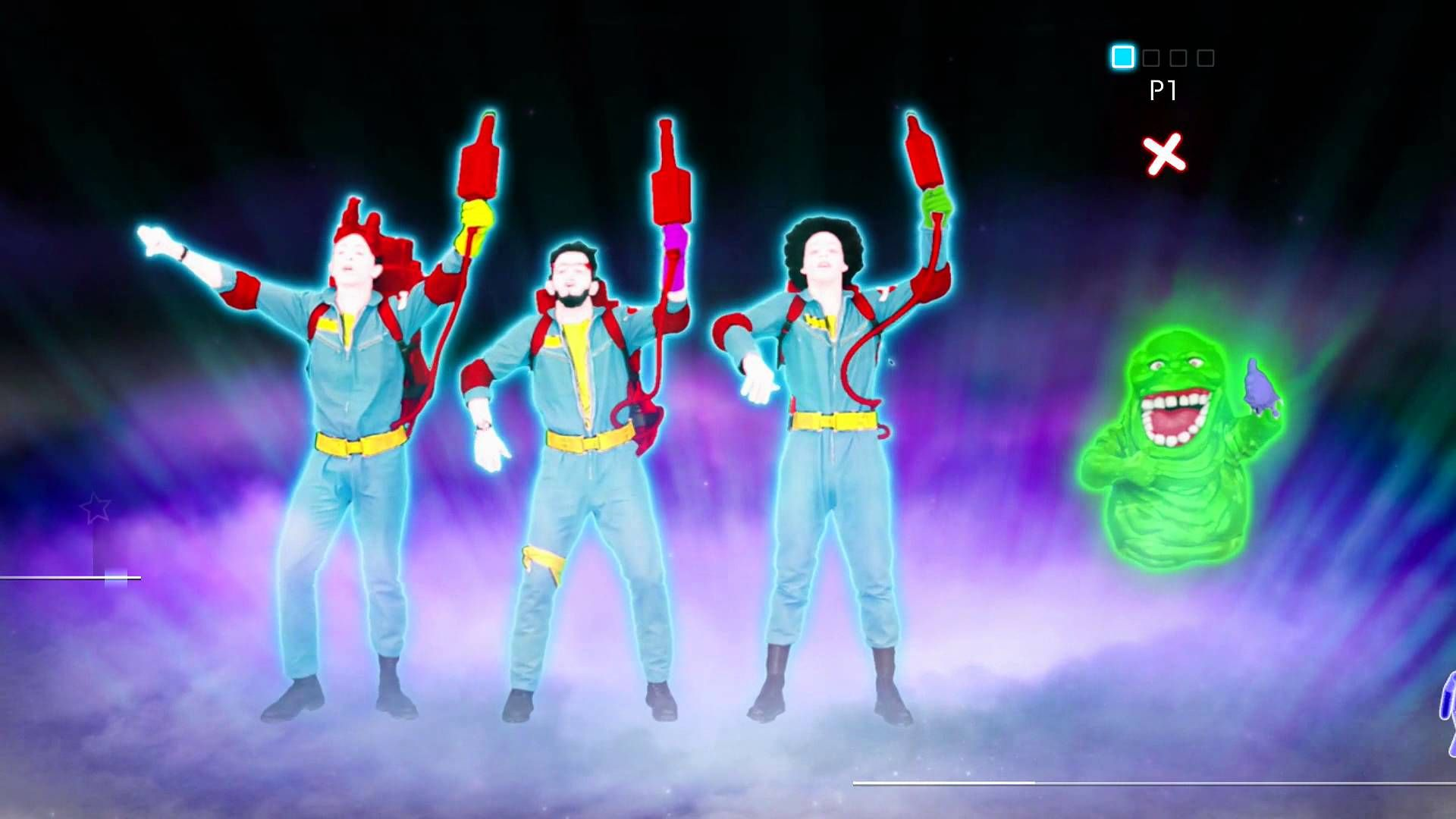 Full Choreography Of Ghostbusters By Ray Parker Jr In Just