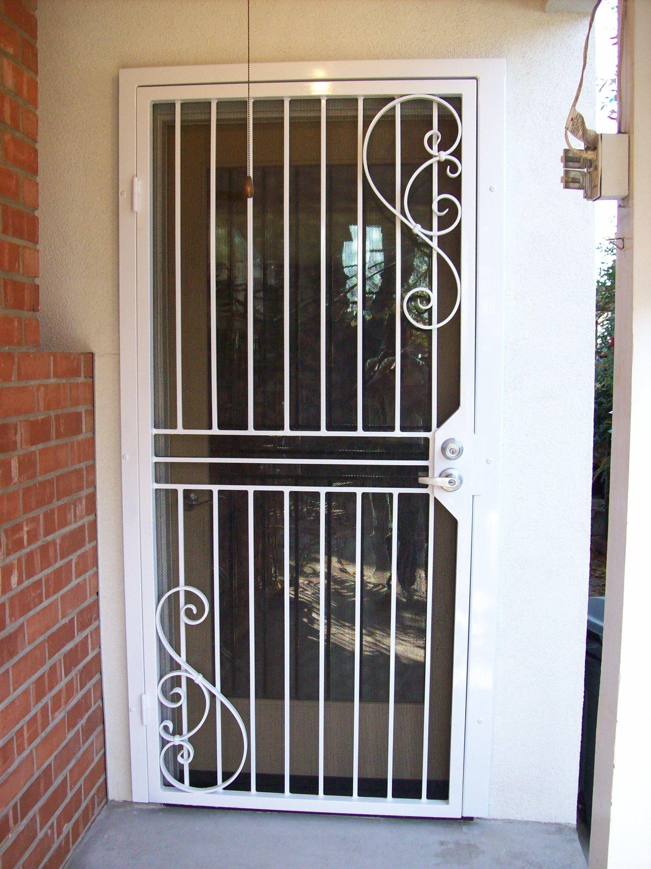 Side Security Door 98 Jpg 2134 2848 Security Door Window Bars