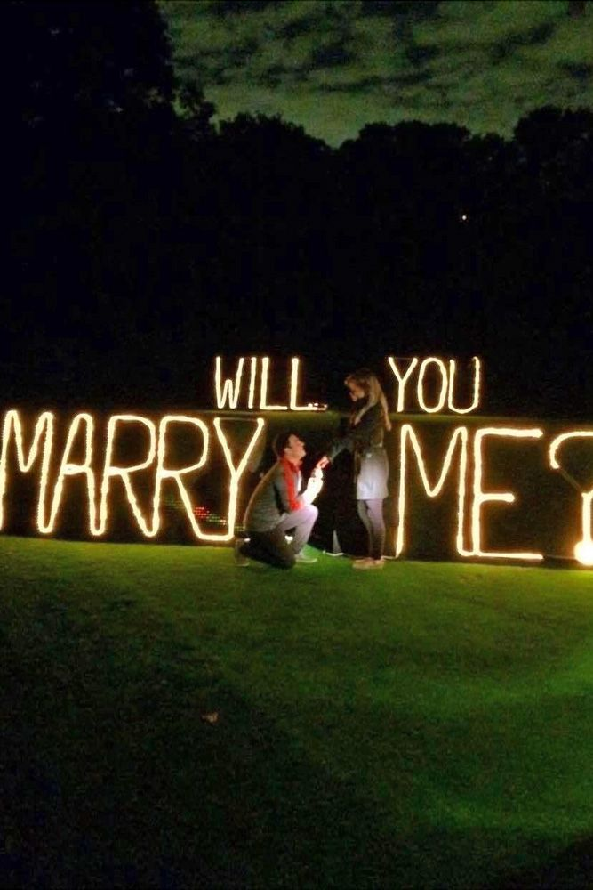 romantic proposal ideas so that she said yes and perhaps someday