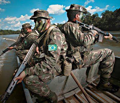 Soldiers In Pantanal Exercito Forças Armadas E Forças