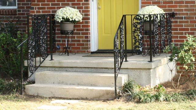 How To Repair And Paint Metal Wrought Iron Handrails Iron