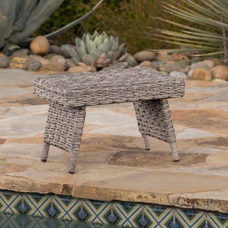 Patio Garden Wicker Wicker Table Table
