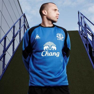 Heitinga at Everton