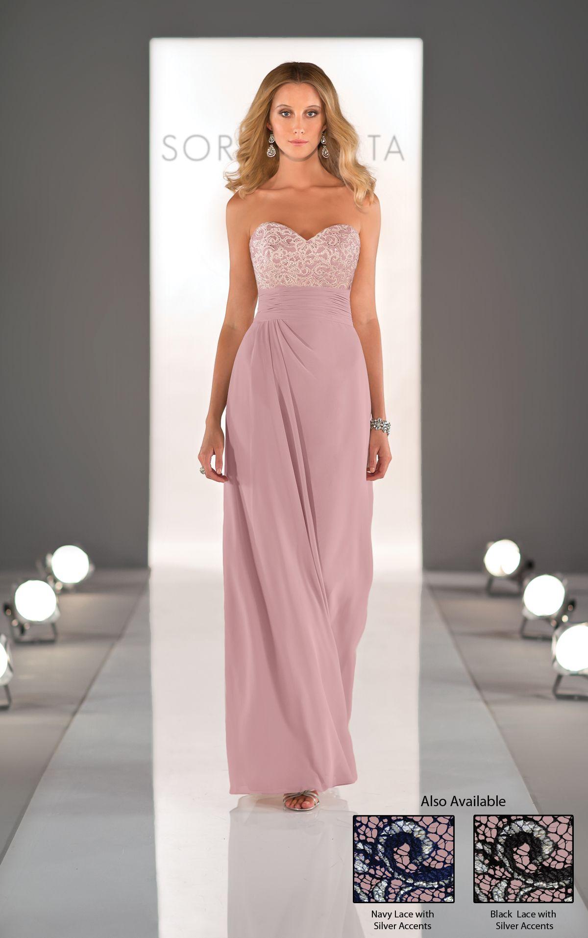 Increíble Vestidos De Dama Gris Patrón - Colección de Vestidos de ...