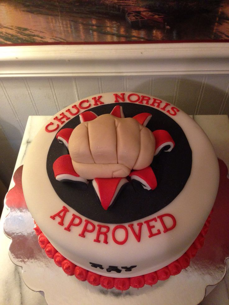 Peachy Chuck Norris Birthday Cake 07 Chuck Norris Birthday 40Th Personalised Birthday Cards Sponlily Jamesorg