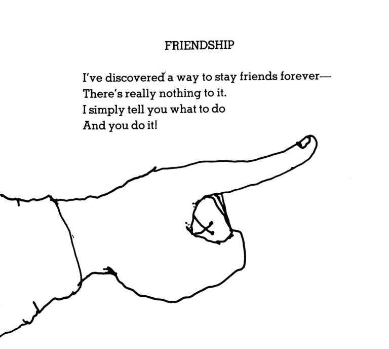 17 Shel Silverstein Quotes About Friendship Friendship Quote Quotesvirall Com Frien In 2020 Shel Silverstein Poems Silverstein Poems Shel Silverstein Quotes