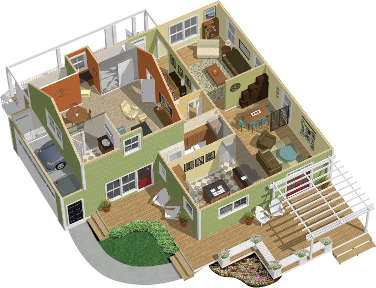 find this pin and more on 3d housing planslayouts - Housing Plans