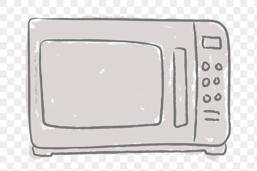 Doodle Kitchen Microwave Design Element Free Image By Rawpixel Com Nunny Sticker Design Doodles Design Element
