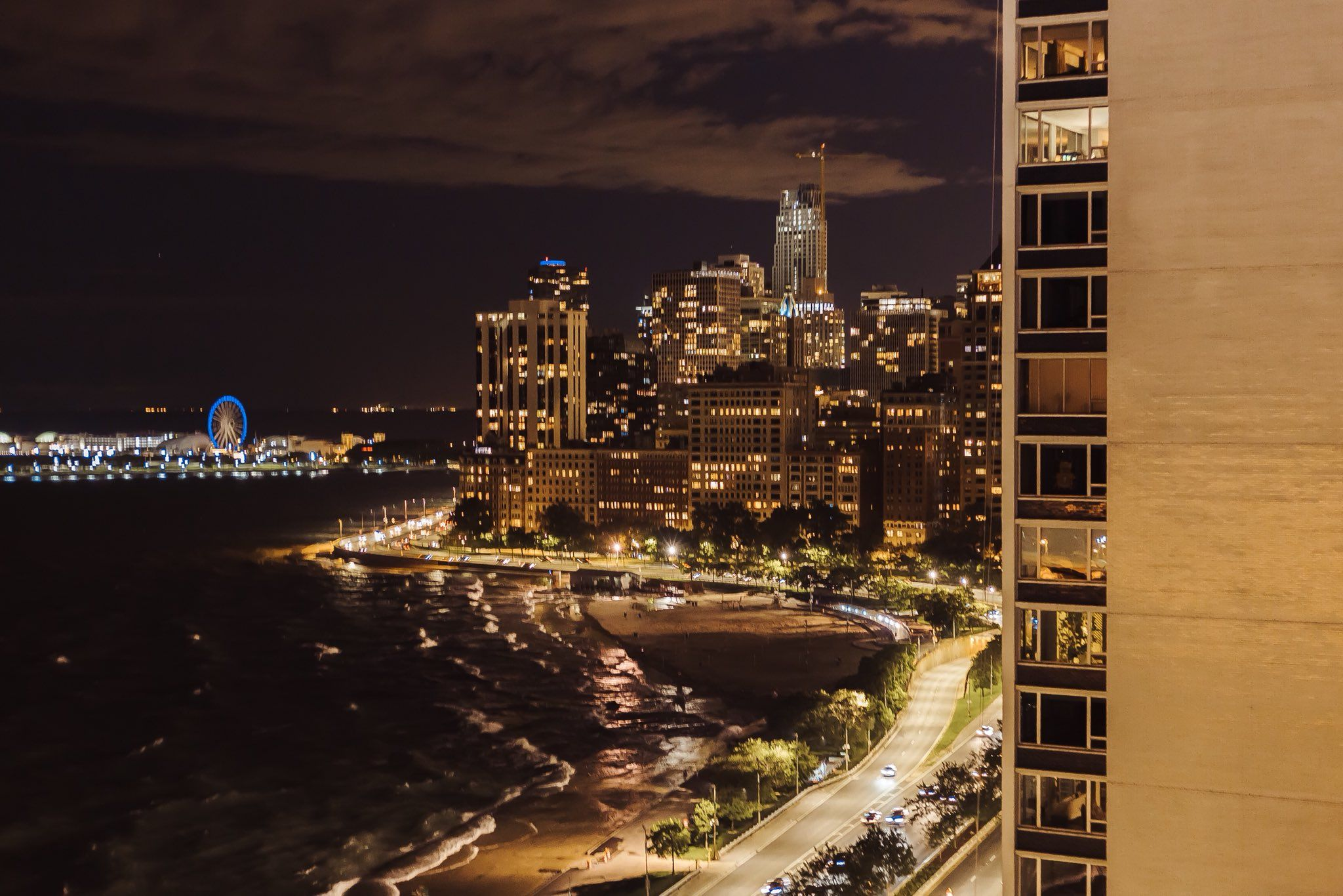 9pm in Chicago. Shot with a Canon 6D City pictures