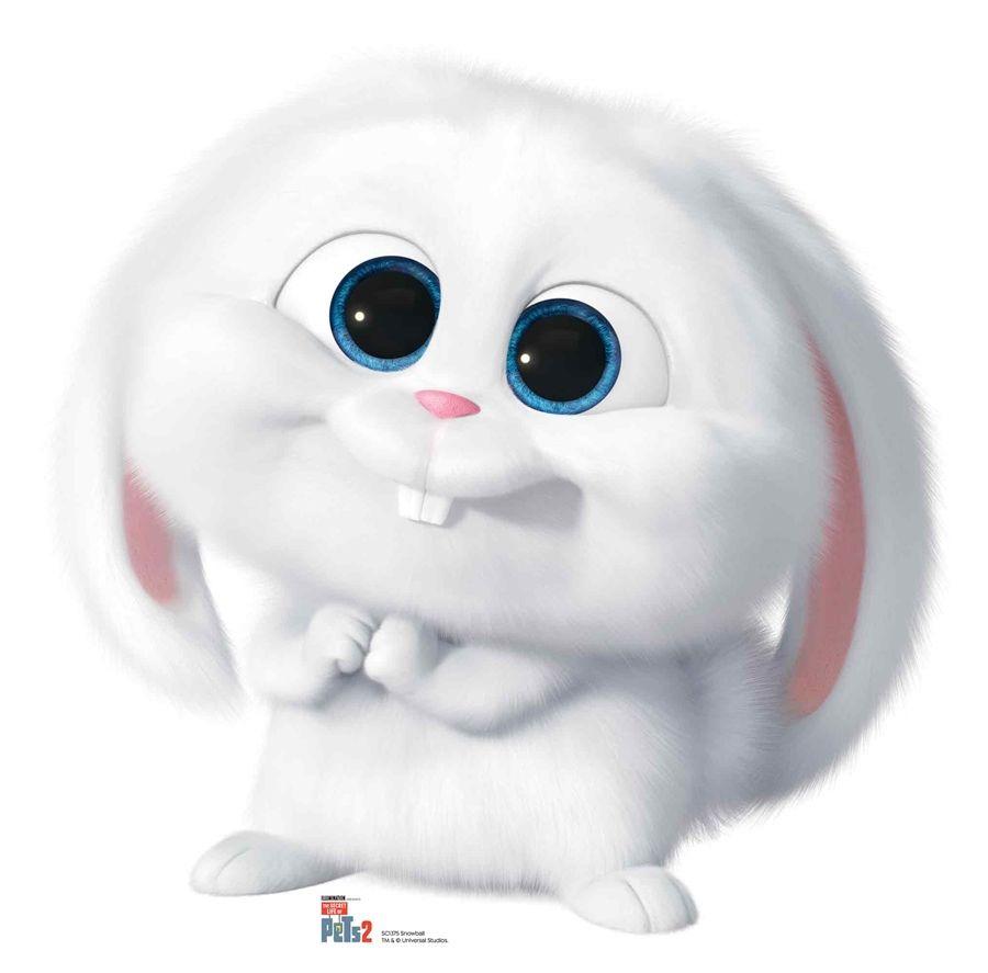 Snowball The Rabbit Secret Life Of Pets Cardboard Cutout Disney