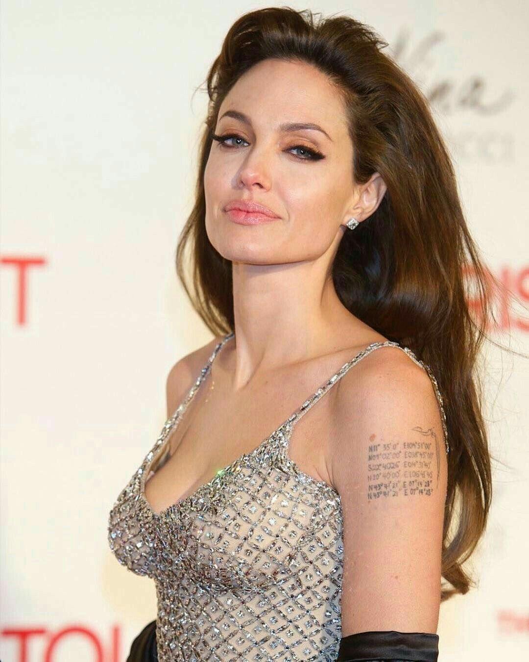 Angelina Jolie Tattoos 2019: Angelina Jolie Photos, Angelina