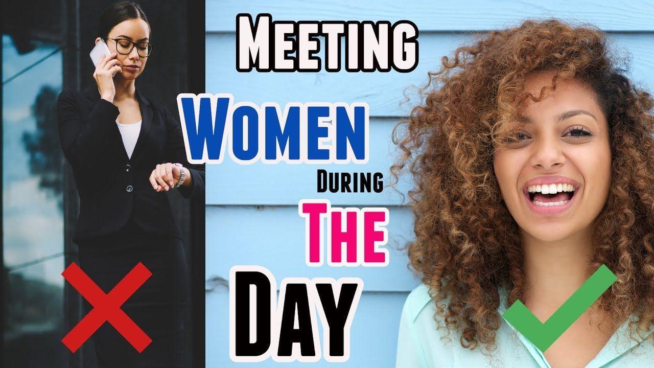 How to meet girls in public