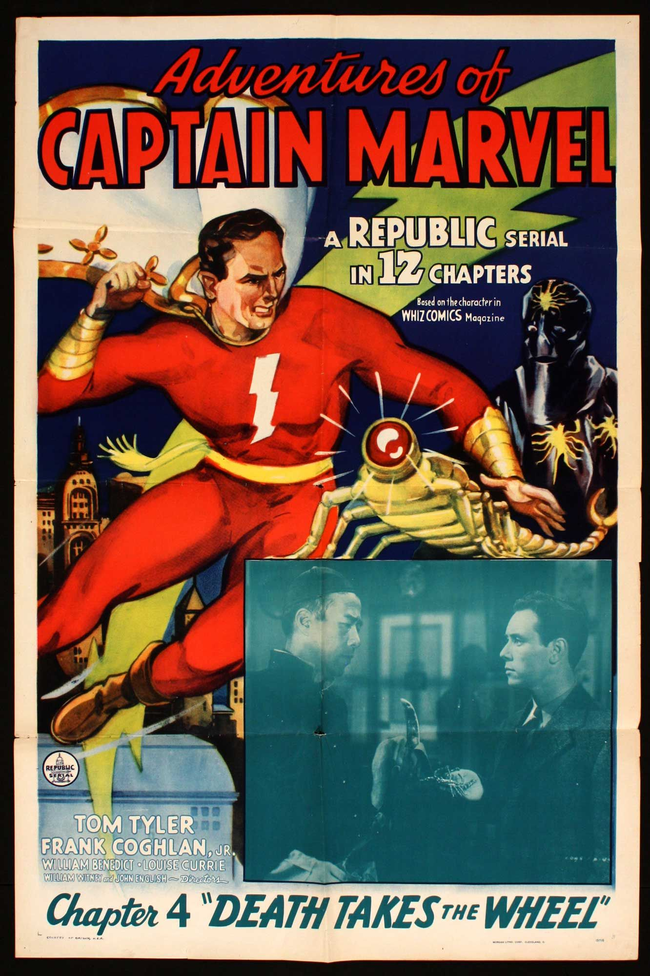captain marvel 1941 serial