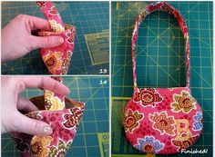 toddler purse tutorial...for Eve