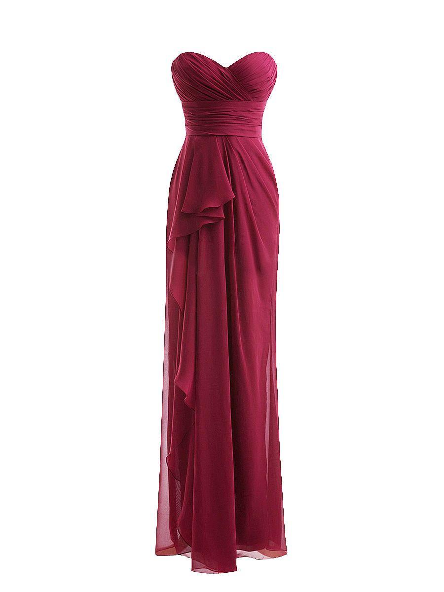 Sweetheart Pleated Dress