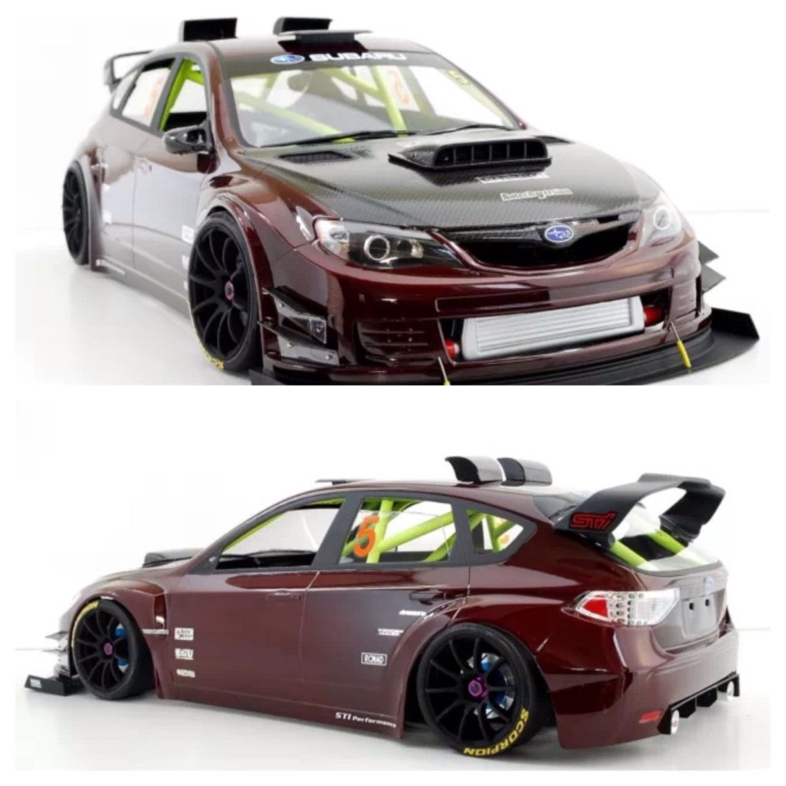 Rc Drift Car Subaru Impreza Sti Body Radio Control Cars