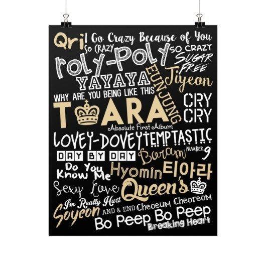 "T-ARA ""COLLAGE"" Poster"