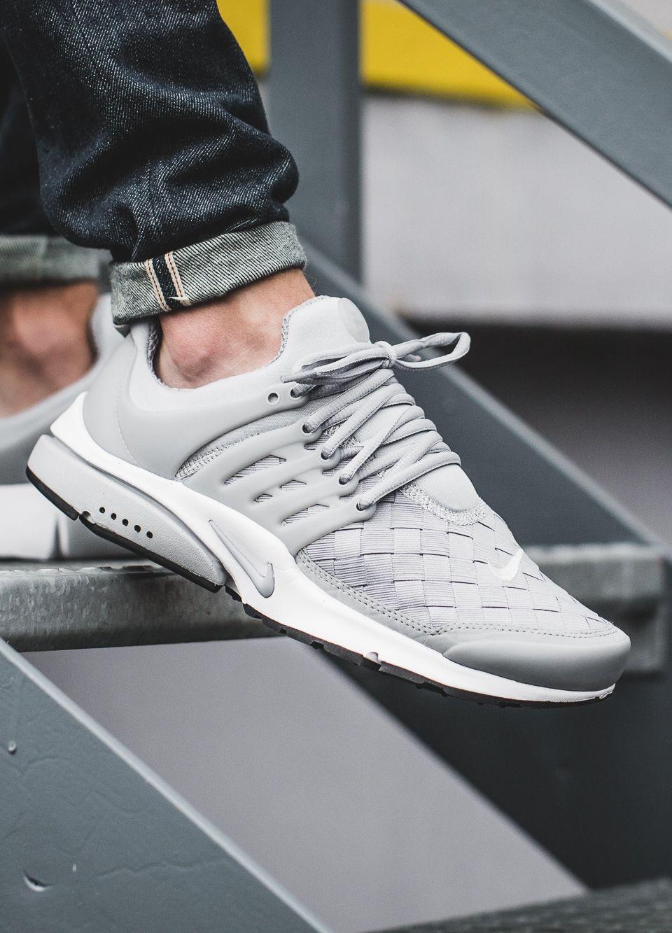 Sneakers: Nike Air Presto SE Woven 'Grey'