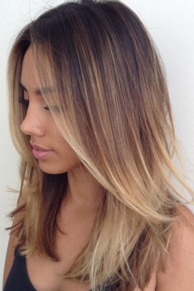 42 Chic Medium Length Layered Hair | LoveHairStyles.com