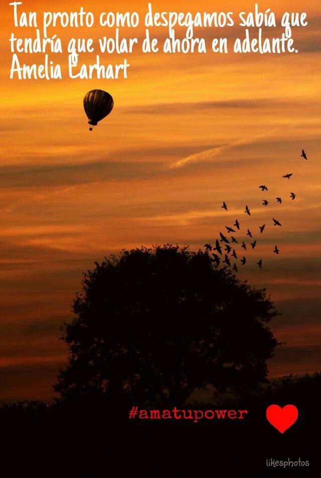 No te conformes solo con soñar, vuela alto, sin límites. #amatupower #frases #citas