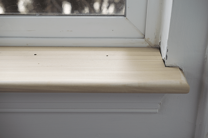 How To Repair The Interior Window Sill And Trim Interior Window Sill Interior Windows Interior Window Trim