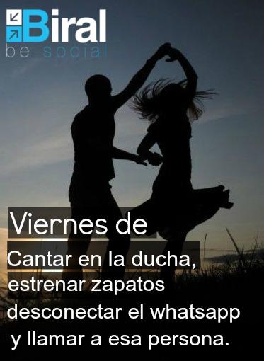 #viernes #frase #día #cantar #bailar #feliz #felicidad