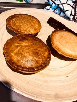 Slow Cooked Steak and Onion Pies | Recipe | Steak and ...