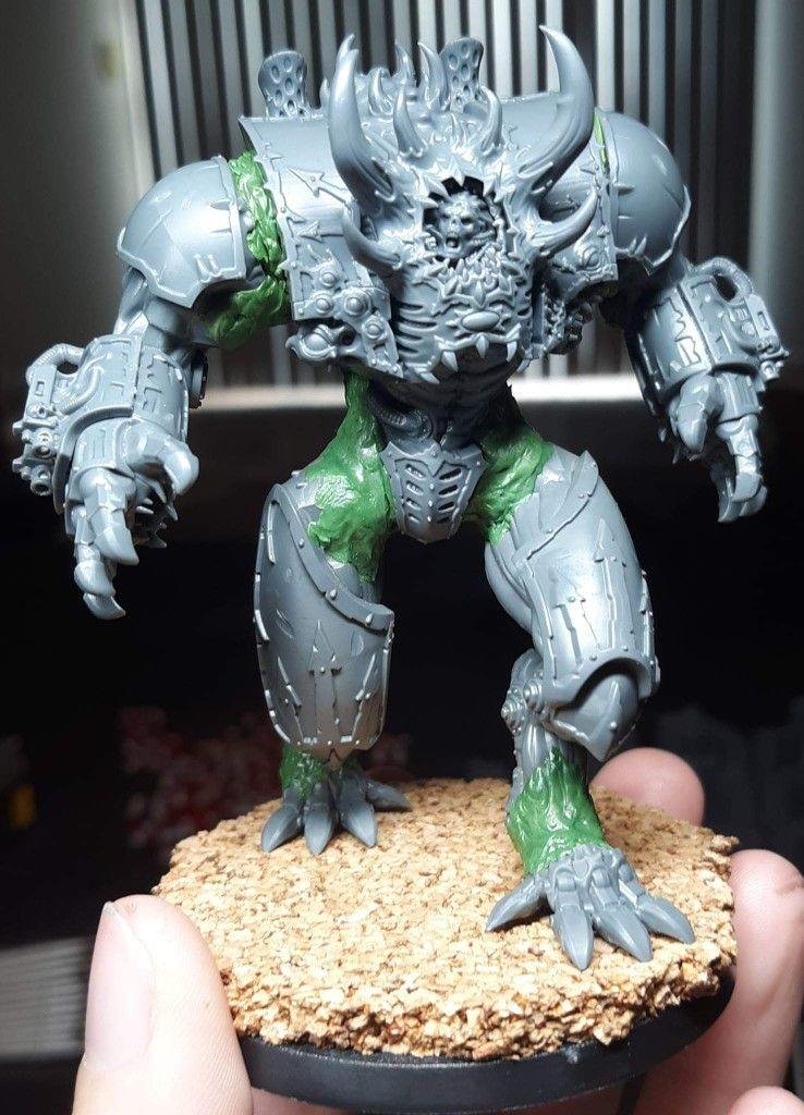40K Chaos Daemons Daemon Prince Spiked Shoulder//Arm Armor Guard Bits