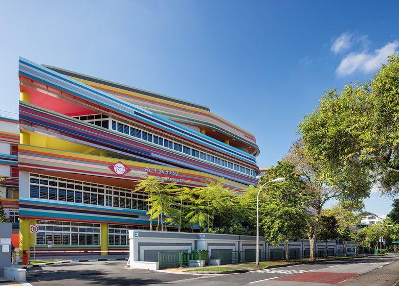 Studio505 expands NanyangPrimarySchool in Singapore and