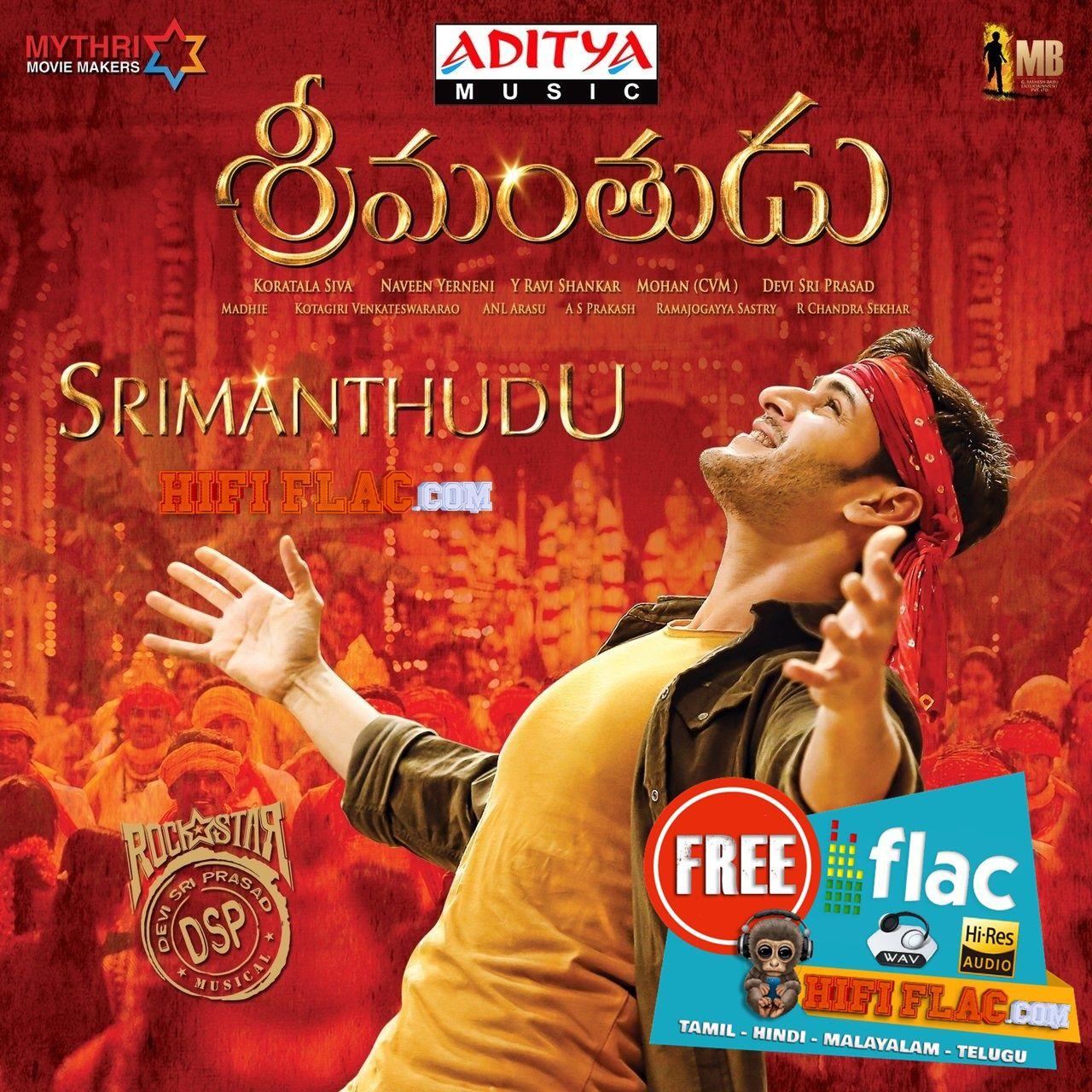 Srimanthudu 2015 Telugu Digitalrip Flac