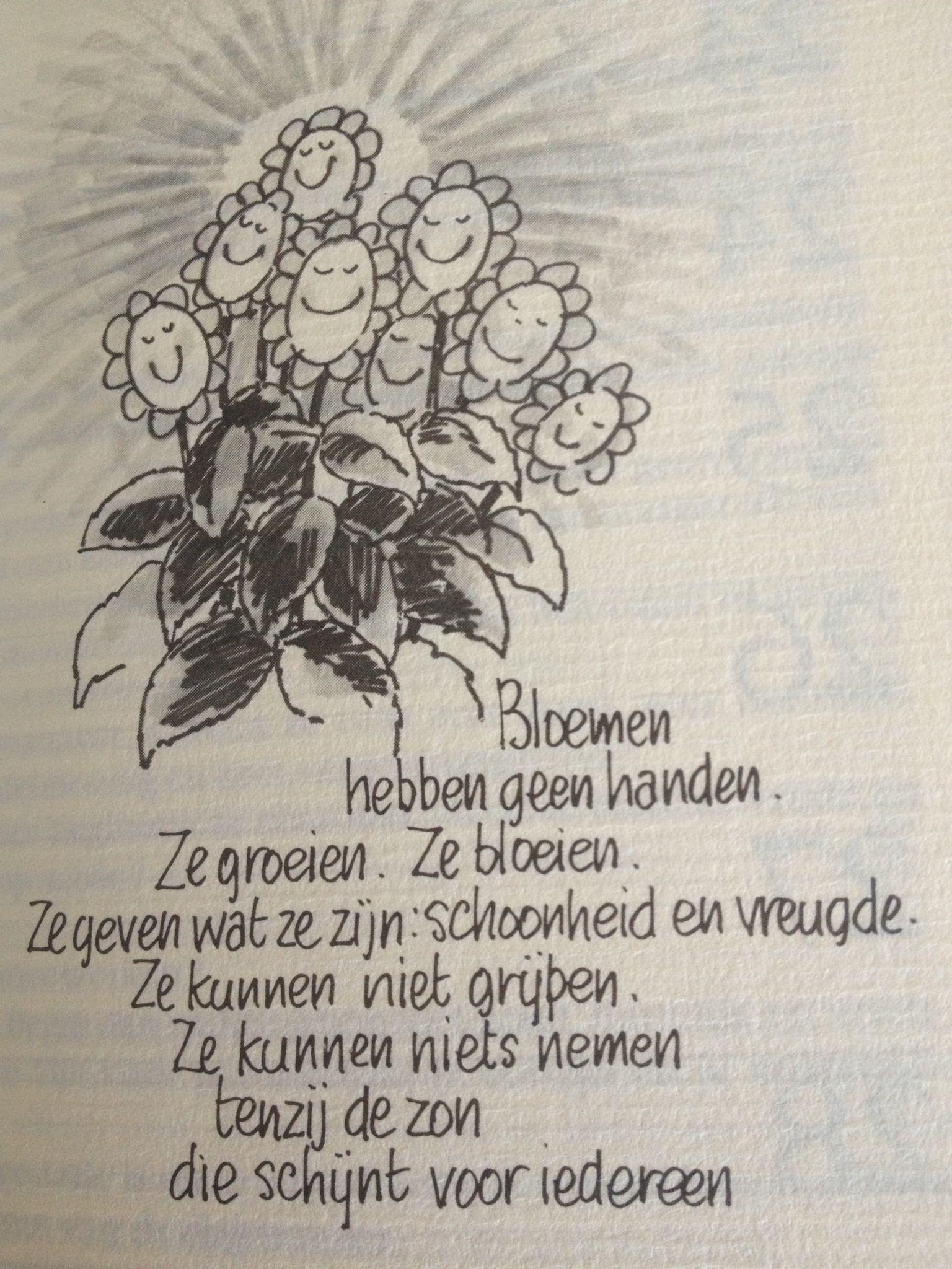 Citaten Over Bloemen : Phil bosmans bloemen mooie gedichten teksten citaten
