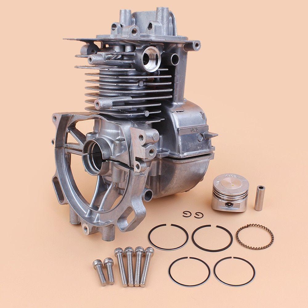 39mm Cylinder Piston+Spark Plug Kit For Honda GX35 GX35NT Lawn Mower Part