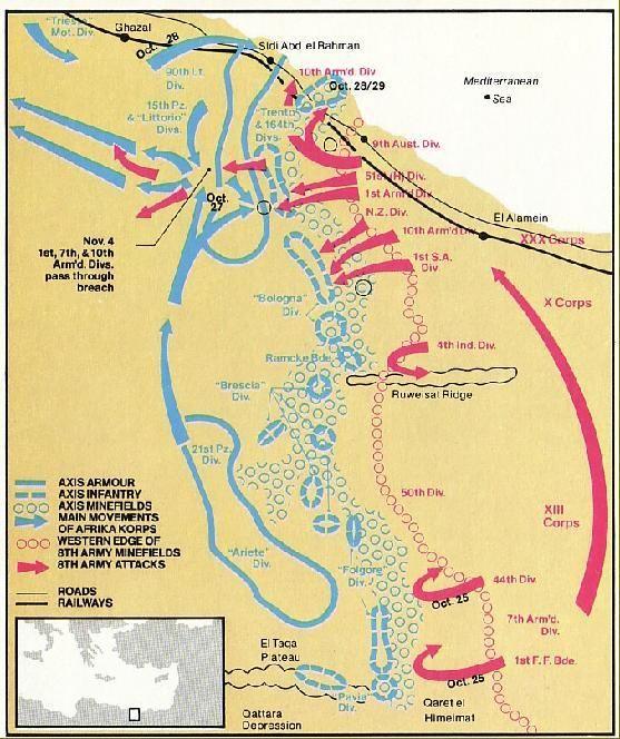 El Alamein 18-19 Ottobre 1942