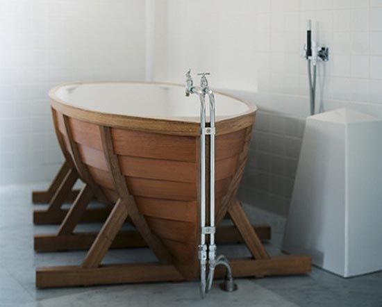 ... Idea Of A Clinker Built Bath Boat, Out Under The Trees, By The Lake,  Under The Stars. But A Bigger Boat, Built For Two. Viking Bath Boat By Wieki  Somers Nice Ideas