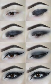 Photo of Goth Smokey Eye Tutorial   Check this gothic smokey eye tutorial to get the powe…