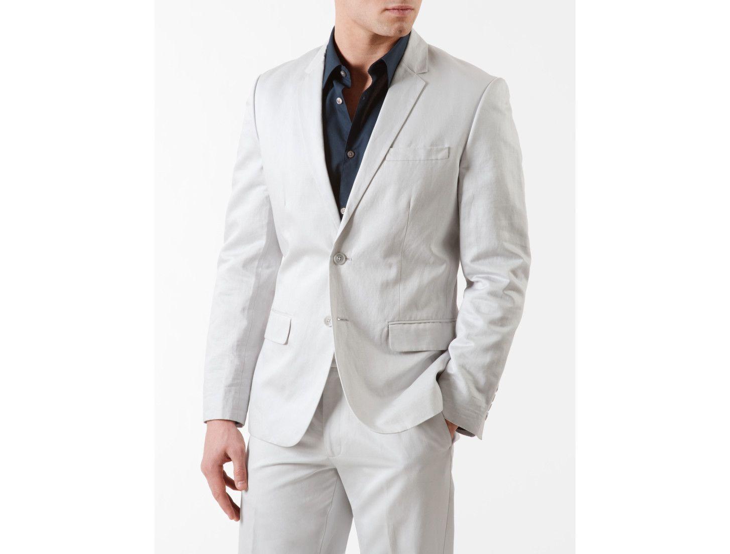 Calvin klein men\'s cotton linen blend suit jacket | Suit jackets ...