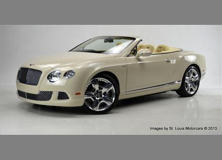 2013 Bentley Continental GTC Mulliner Driving Spec