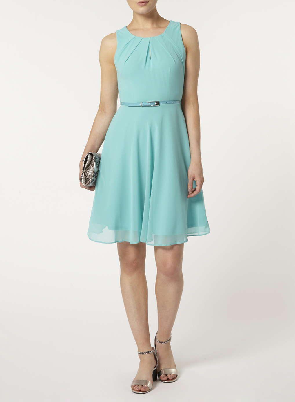 Billie & Blossom Green Chiffon Dress | Alison\'s Buoyant Spring ...