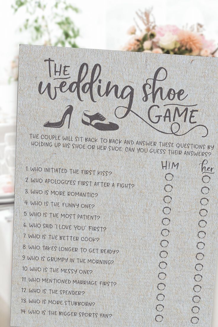 Grey Wedding Shoe Bridal Shower Game. Wedding Shoe Game . Bridal Shower Game,Virtual Bridal Shower -   18 wedding Games for money ideas