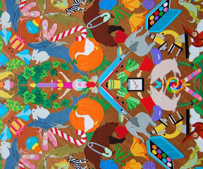 Sticker art mandalas - Lauren Venell