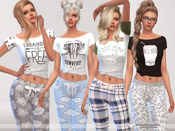 Extrêmement Dreaming is Free pyjama tee collection by Pinkzombiecupcakes at  IF68