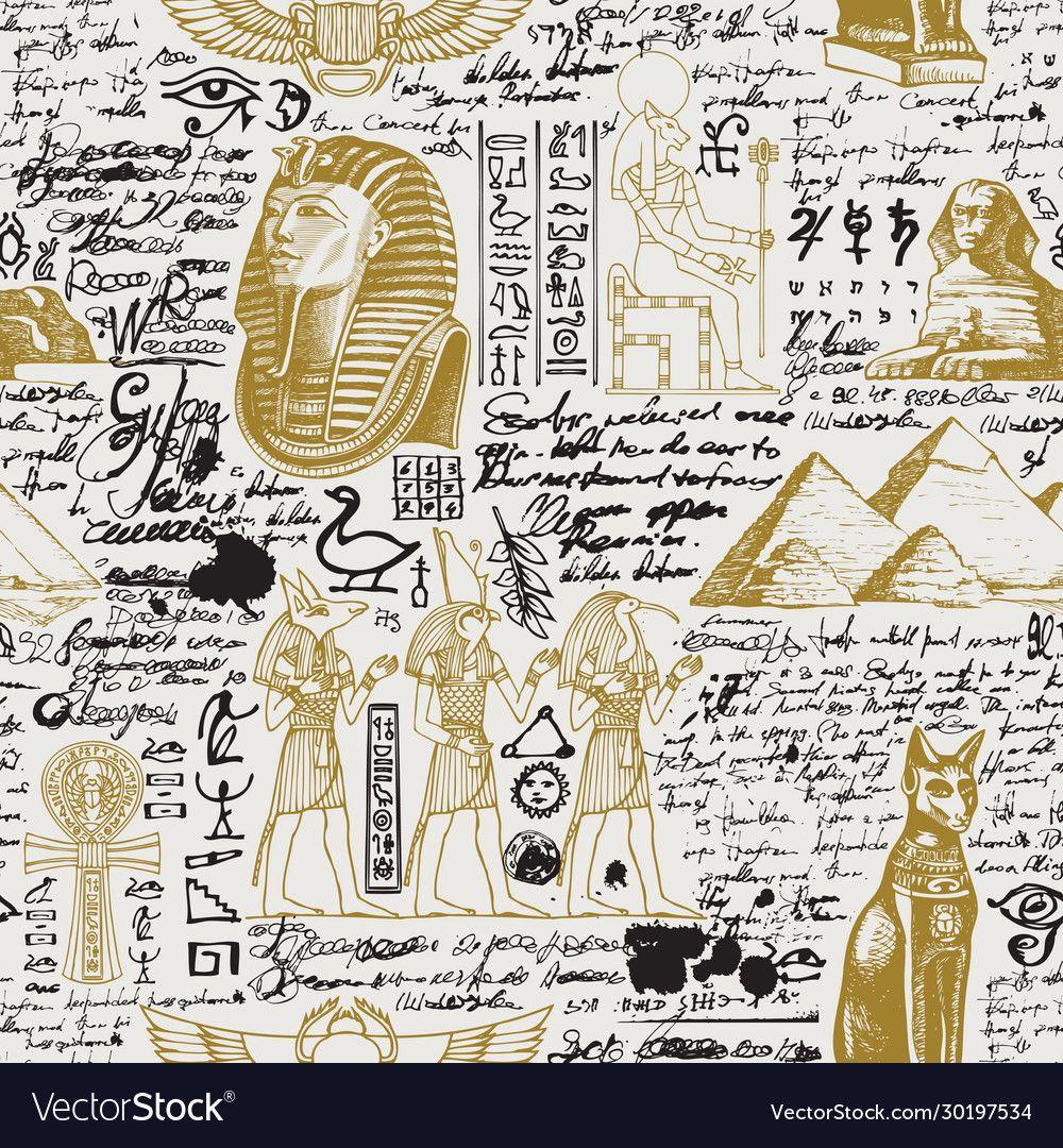 Egypt wallpaper, Cool symbols, Ancient ...