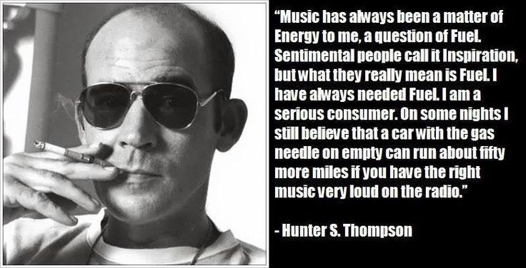 hunter s thompson quotes beast | Hunter S. Thompson quote ...