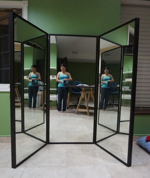 Ikea Stave Mirror Installation Google Search Finished 3 Way