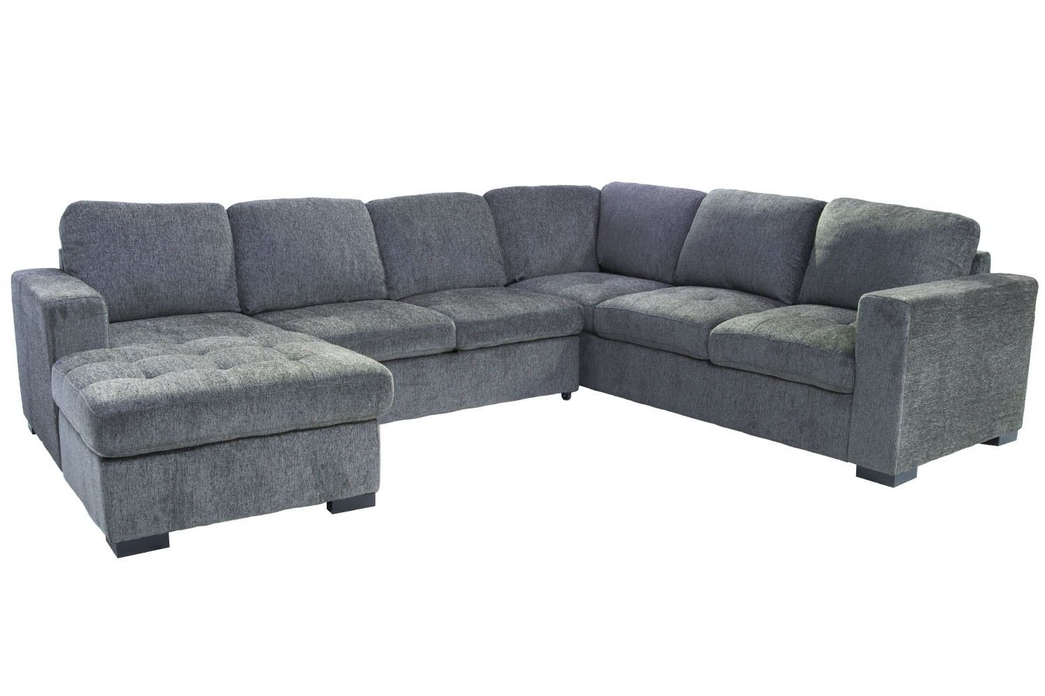 Mor Furniture for Less The Claire 3Piece RightFacing Chaise