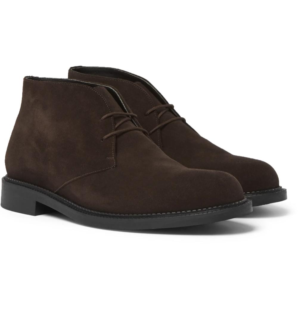 Brown Suede Desert Boots J.M. Weston in 2020 Mens
