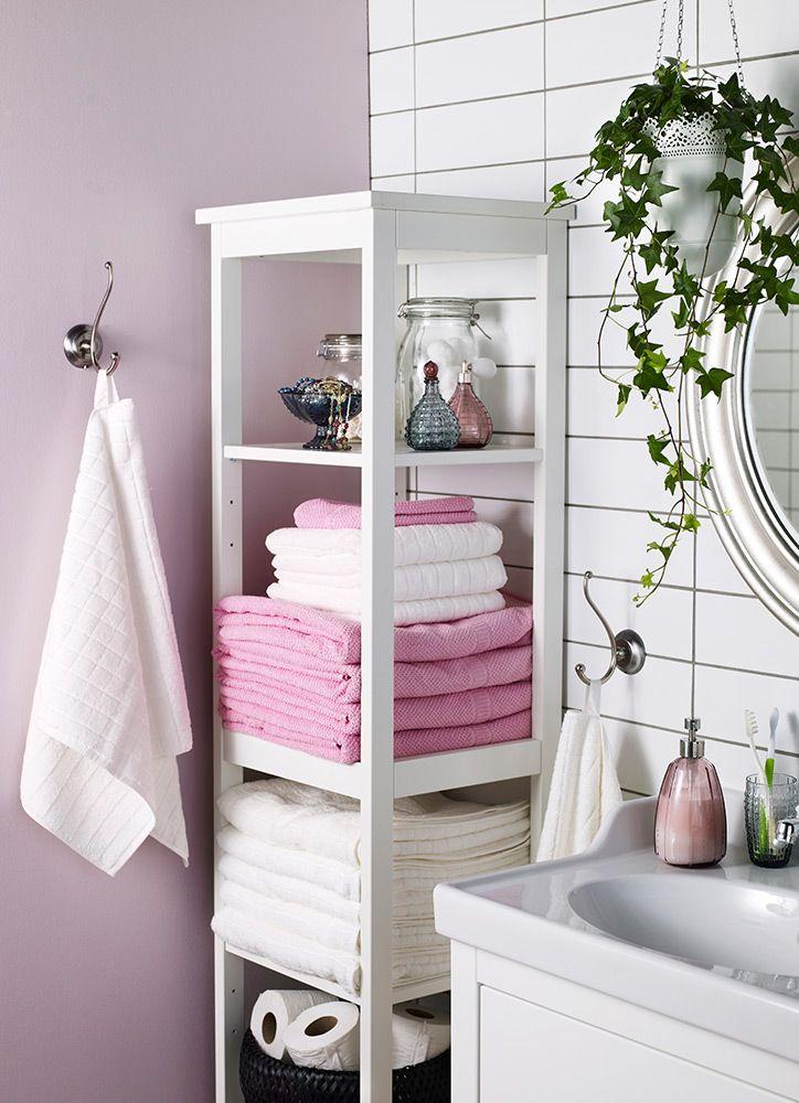 Estanter a til para organizar las cosas del ba o muebles for Muebles para toallas