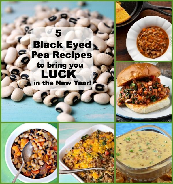 5 black eyed pea recipes for good luck in the new year black 5 black eyed pea recipes to bring you good luck in the new year amazing food forumfinder Gallery