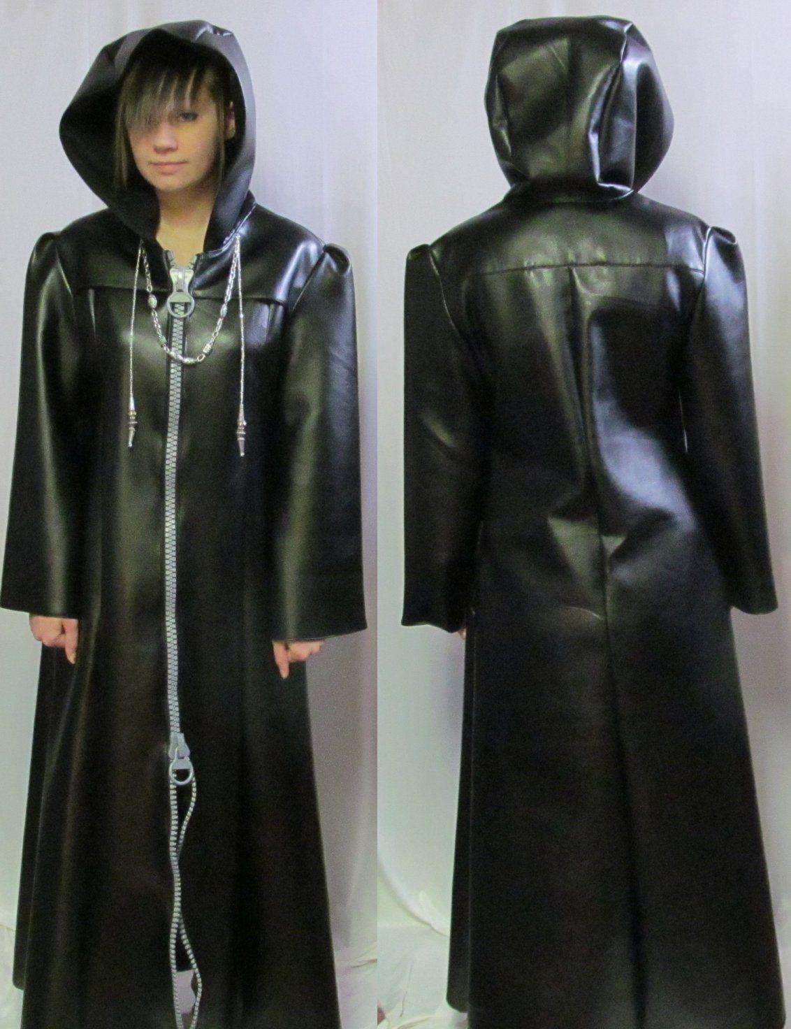 Kingdom Hearts Roxas Organization Xiii Cosplay Coat Costume Roxas Kingdom Hearts Couples Cosplay Kingdom Hearts