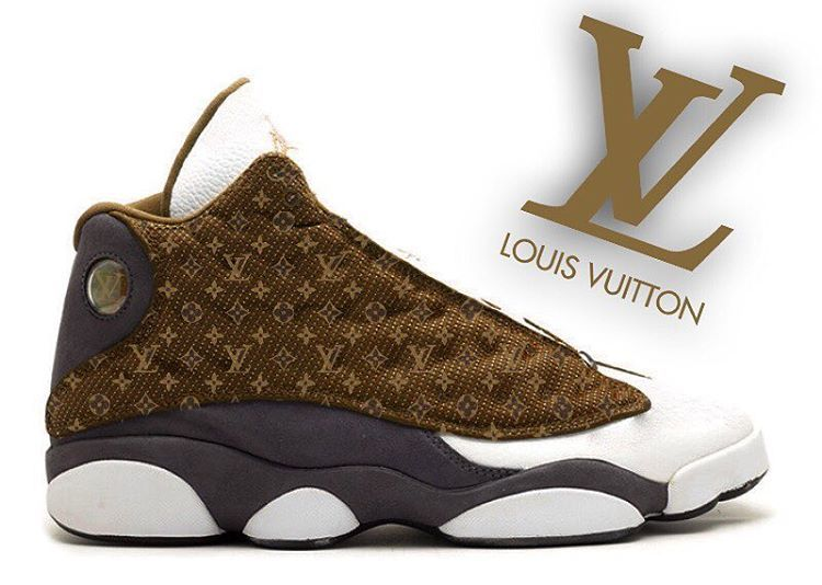 Jordan 13 x Louis Vuitton -----------